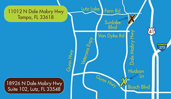 Lutz Florida Map.Lutz Florida Pediatric Dentist Tampa Lutz Odessa Pediatric